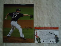 Mitch Stetter Baseball Legends of the Field signed autographed COA 8x10 photo