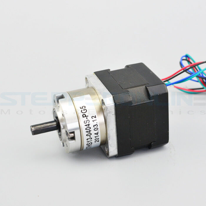 5 1 planetary gearbox nema 17 stepper motor 3d printer for Nema design b motor