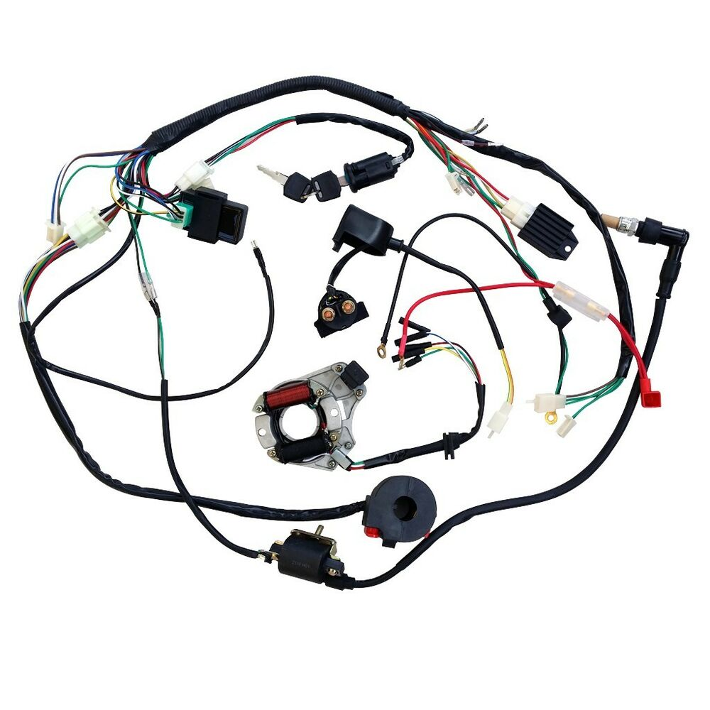 Full Electrics Wiring Harness Cdi Coil 110cc 125cc Atv Quad Bike Rhebayau: 110cc Atv Cdi Wiring Diagram Full Electrics Harness At Oscargp.net