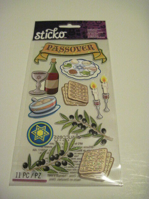 Scrapbooking stickers sticko crafts passover wine goblet for Scrapbooking cuisine