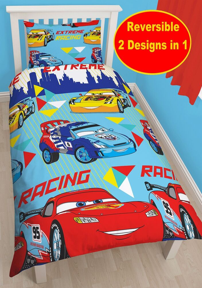 Cars Quilt Cover Single