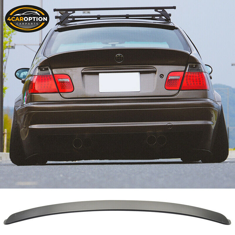 99 05 bmw e46 3 series 4dr ac style unpainted roof spoiler. Black Bedroom Furniture Sets. Home Design Ideas