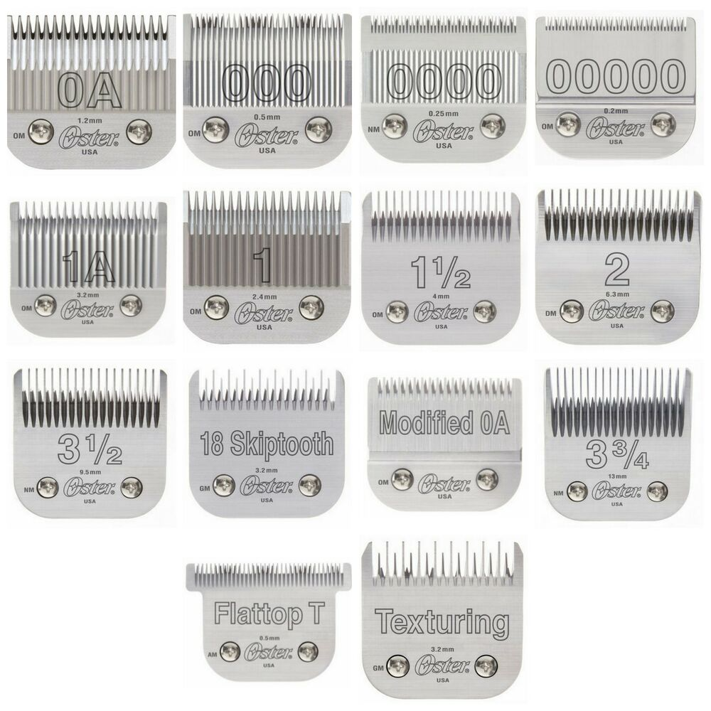 Oster 76 Detachable Clipper Replacement Blades 14 Blades