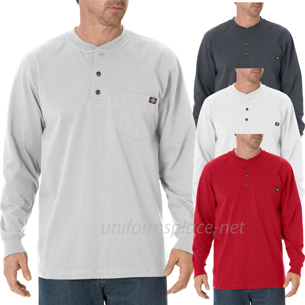 Mens Big And Tall Henley Shirts
