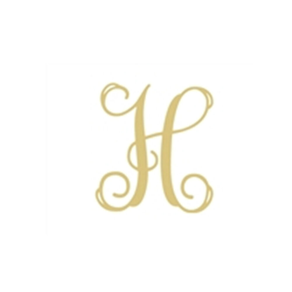 Vine monogram h letter unfinished wood diy wedding nursery for S letter decoration