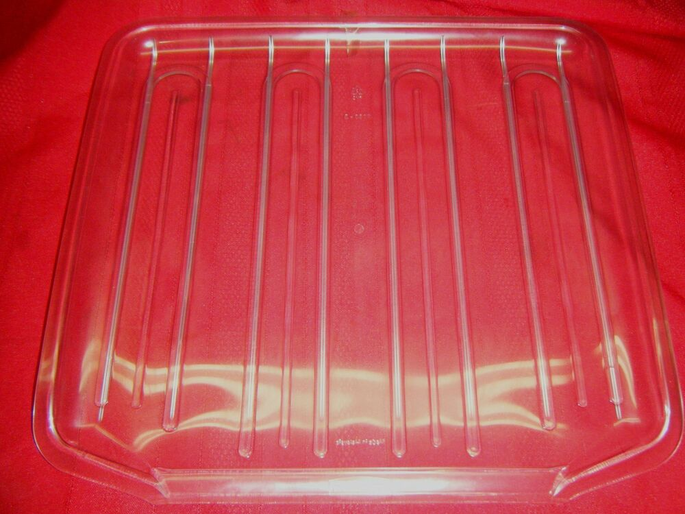 New Clear Rubbermaid Dish Sink Drainer Tray Mat 1180