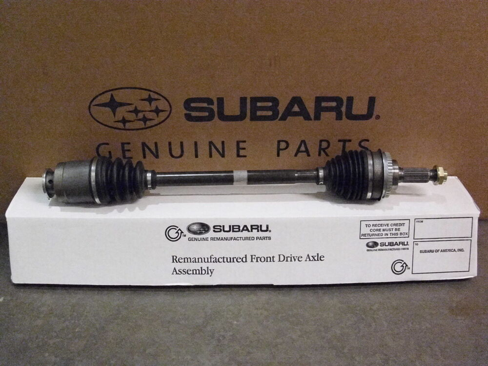 Genuine Oem Subaru Forester Re Manufactured Axle 2001 2002