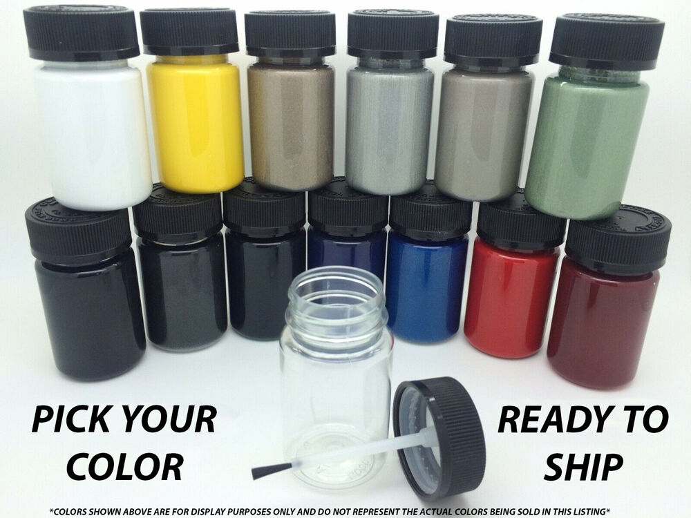 Pick your color touch up paint kit w brush for mercedes for Car spray paint kit