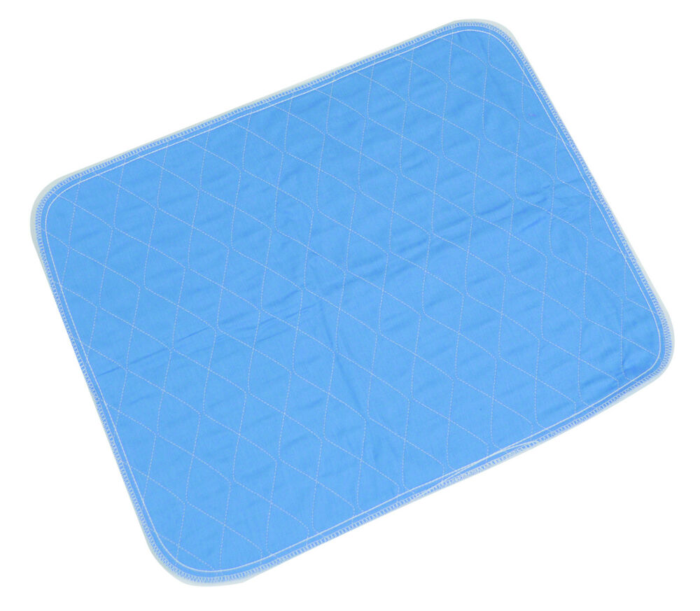Washable durable bed chair male female pads incontinence for Incontinence pads for chairs