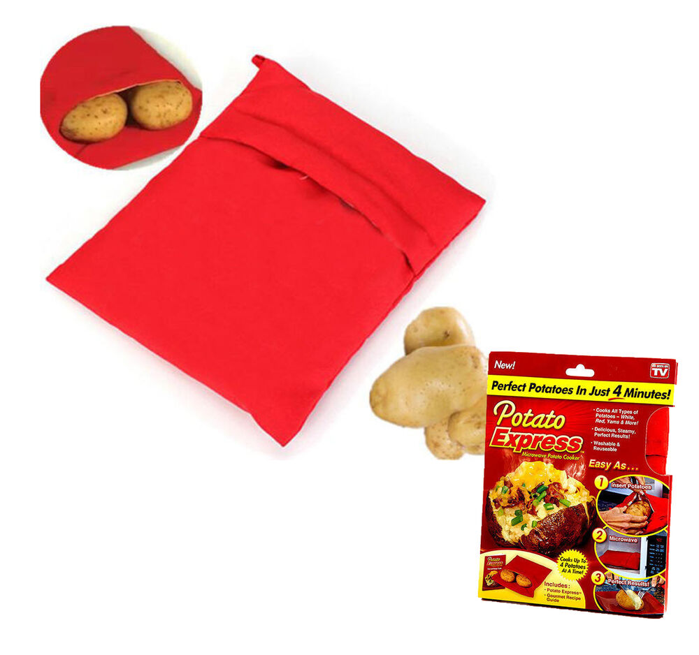 how to clean potato express bag