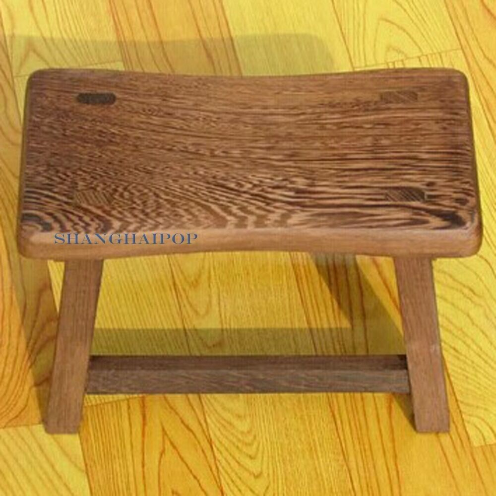 Wooden Craft Furniture ~ Small wooden wood stool bench furniture for adult vintage