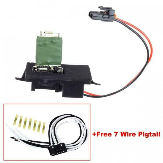 Home Ac Blower Motor Wiring Auto Electrical Diagram Gm 25974801 Radio New Heater Resistor W Harness For Gmc