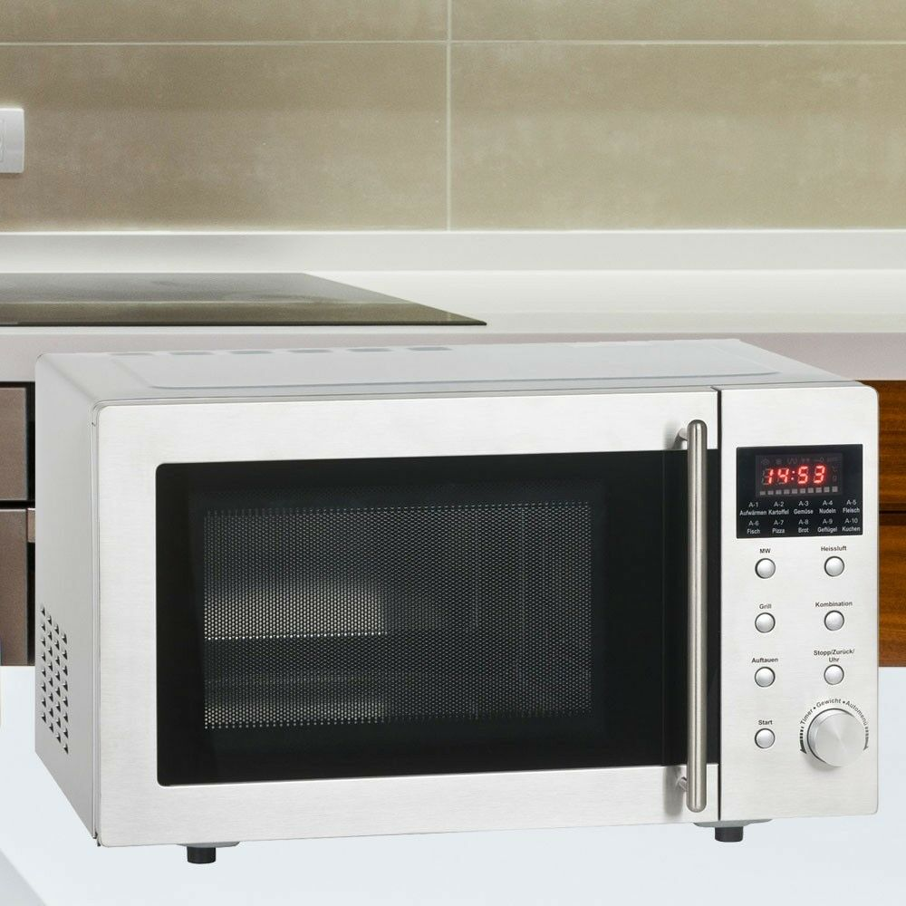 hei luft mikrowelle k chengrill 800w microwave standger t ofen microwelle grill ebay. Black Bedroom Furniture Sets. Home Design Ideas