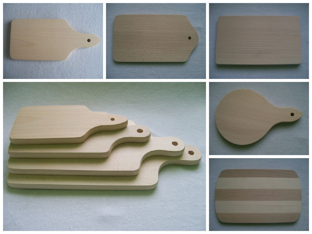 Wooden Rectangular Cutting Chopping Board Handle Ebay