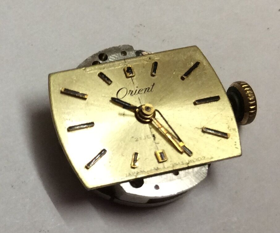 VINTAGE ORIENT WRIST WATCH MOVEMENT FOR PARTS/REPAIR. O ...