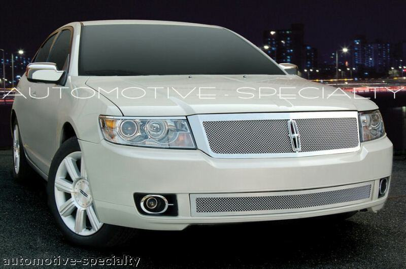2007 2008 2009 lincoln mkz 2pc fine mesh grille grill 07 08 09 e g ebay. Black Bedroom Furniture Sets. Home Design Ideas