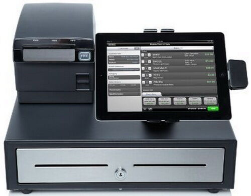Brand New Ncr Silver Pos Cash Register System For Ipad Or