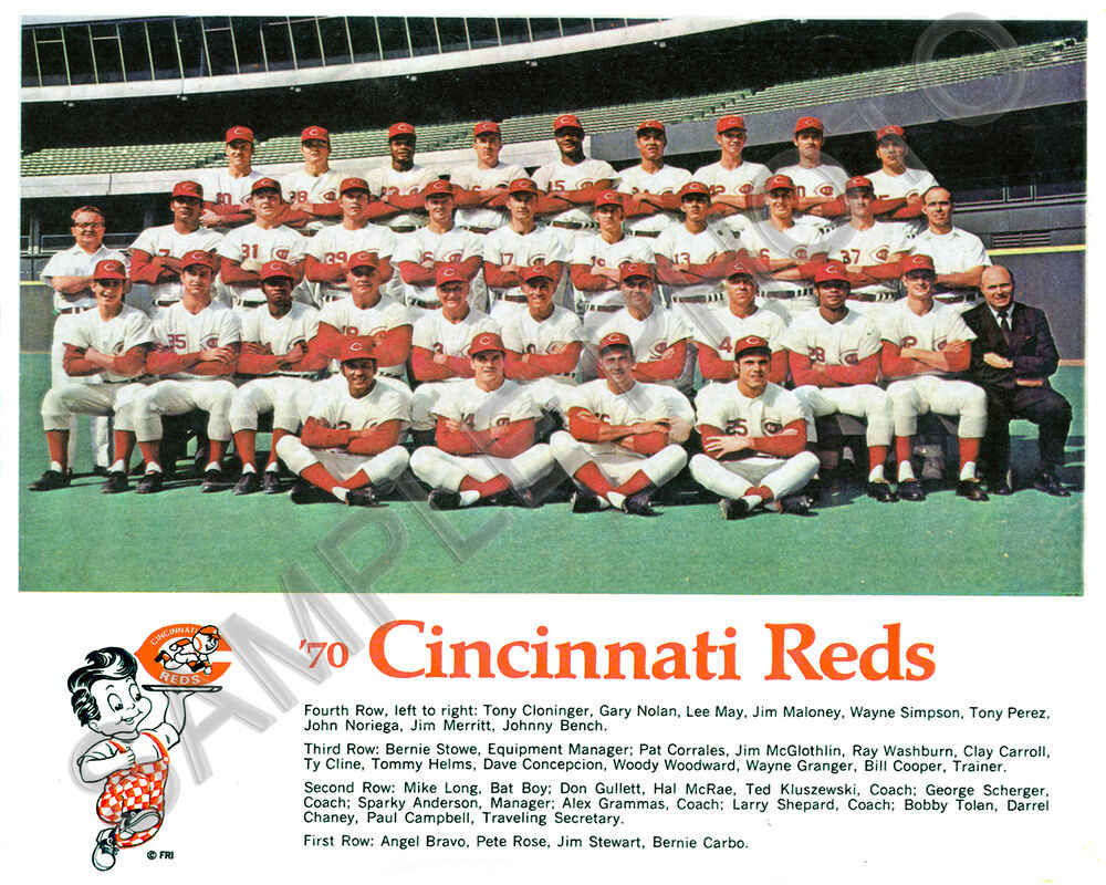 the big red machine (the 1976 cincinnati reds) essay 1976 pete rose: my life in  known as the big red machine, the reds were led by such  when the wheels fell off the big red machine, cincinnati no longer.