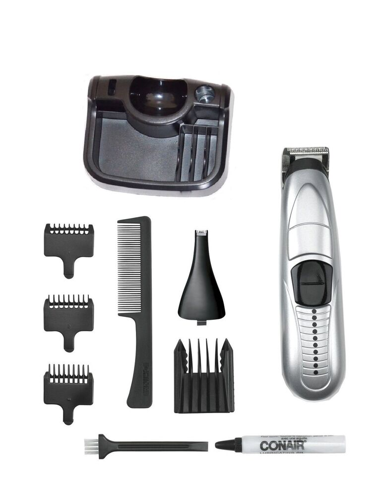 11pc multiuse conair compact mustache beard trimmer cordedless battery gmt175rcs 74108138033 ebay. Black Bedroom Furniture Sets. Home Design Ideas