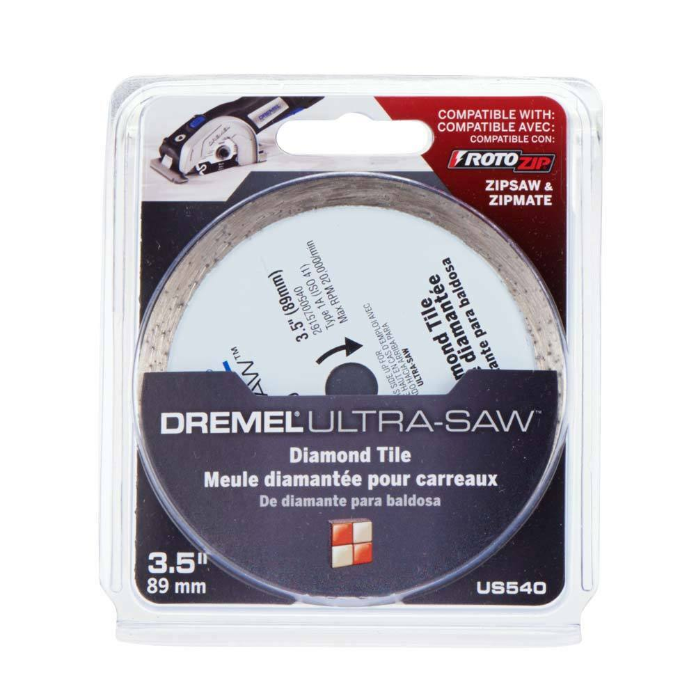New Dremel Ultra Saw Diamond Tile Cutting Wheel Us540 01