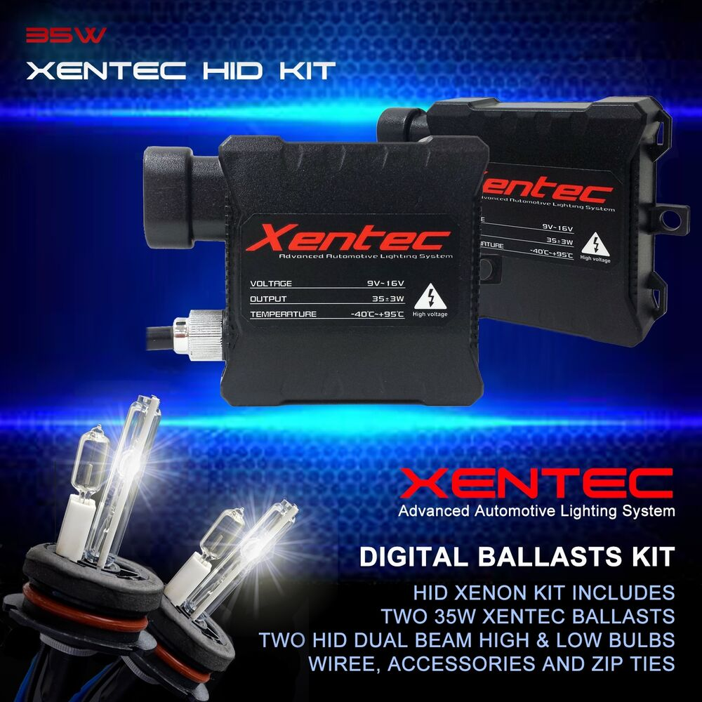 xentec xenon hid kit conversion dual beam halogen high. Black Bedroom Furniture Sets. Home Design Ideas