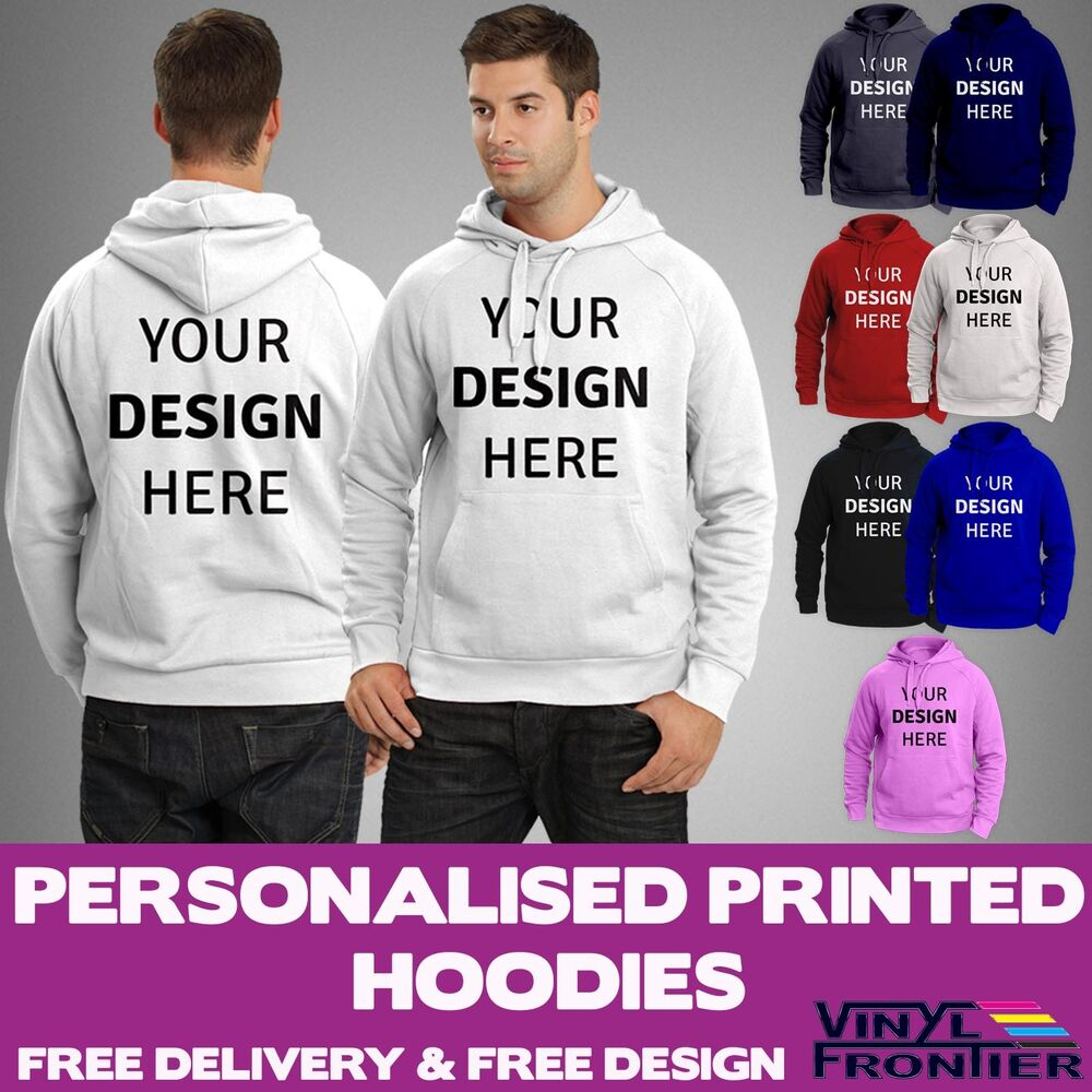 Make your own hoodie sweatshirt