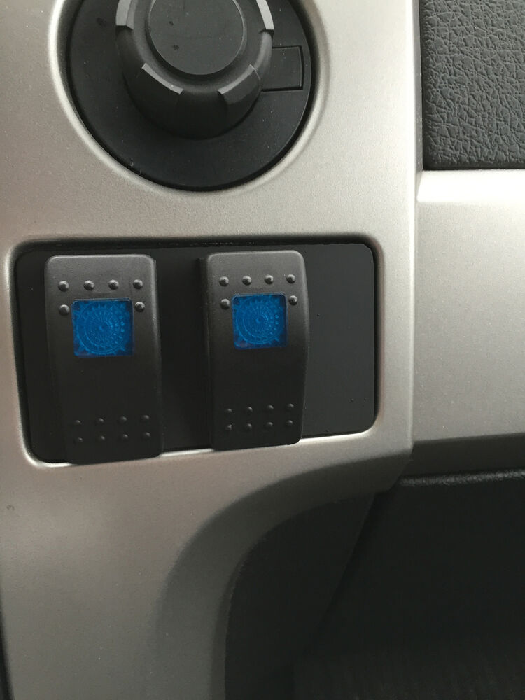 Ford    Raptor  F150 Dual Switch Panel     2009     2014  Fits