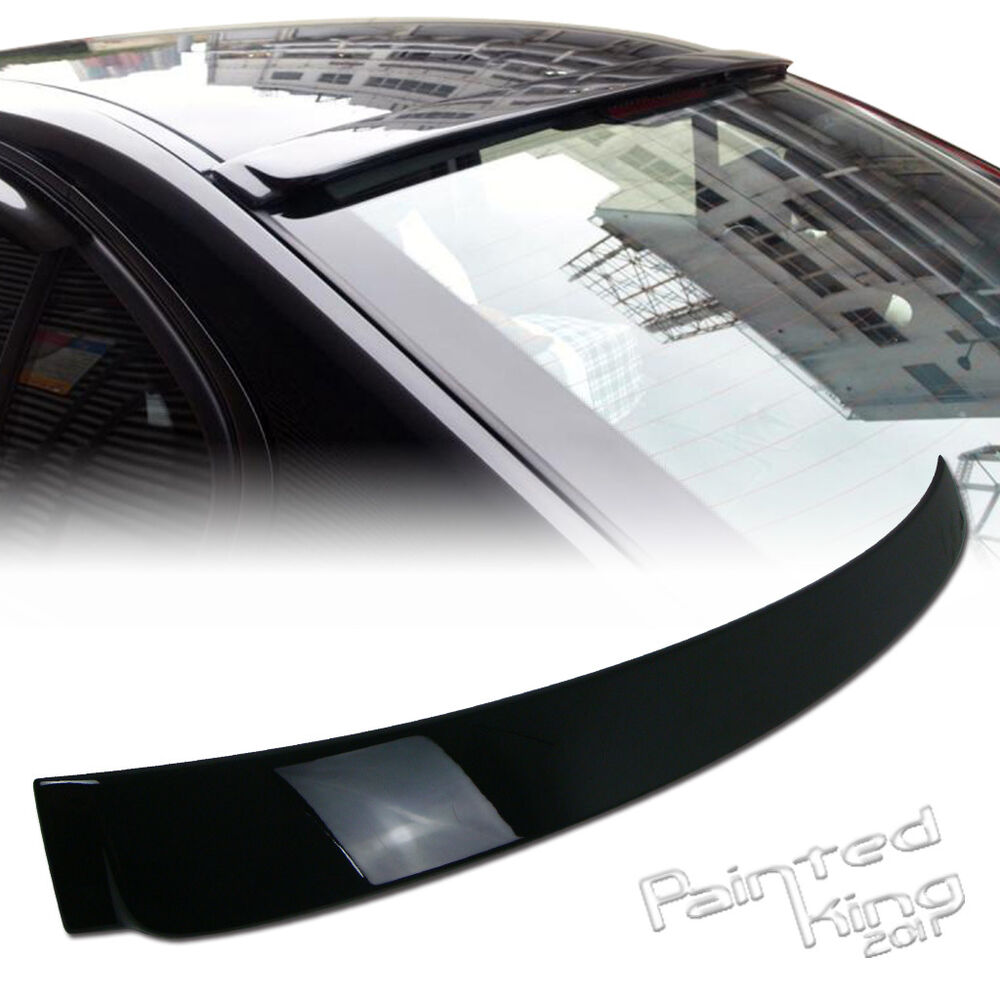 2006 2011 bmw e90 3 series a type roof spoiler rear wing. Black Bedroom Furniture Sets. Home Design Ideas