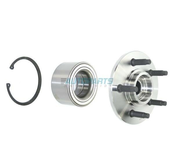 new rear wheel hub bearing axle assembly fits 2002 2010. Black Bedroom Furniture Sets. Home Design Ideas