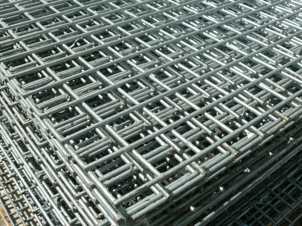 Welded Mesh Panels 8x4ft 1x1 Quot 25mm Hole Galvanised