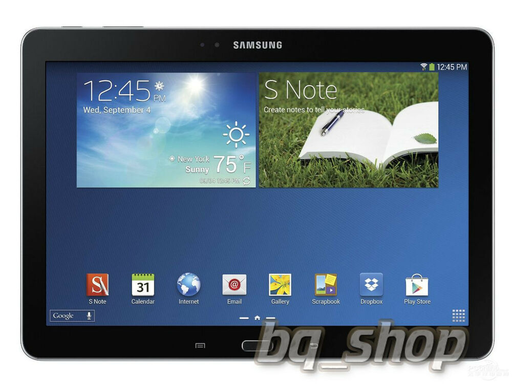 samsung galaxy note 10 1 2014 p601 black quadcore 3gb ram. Black Bedroom Furniture Sets. Home Design Ideas