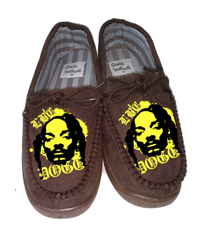 Snoop Dogg Mens Slippers Personalized T Shirt Slipper