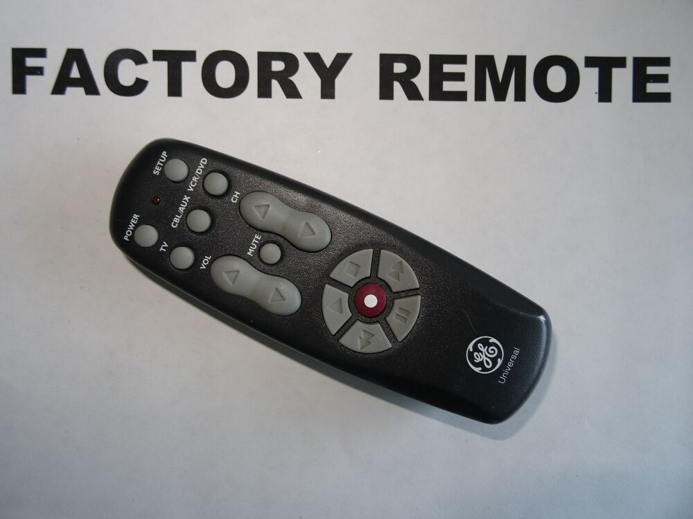 ge cl4 universal remote codes
