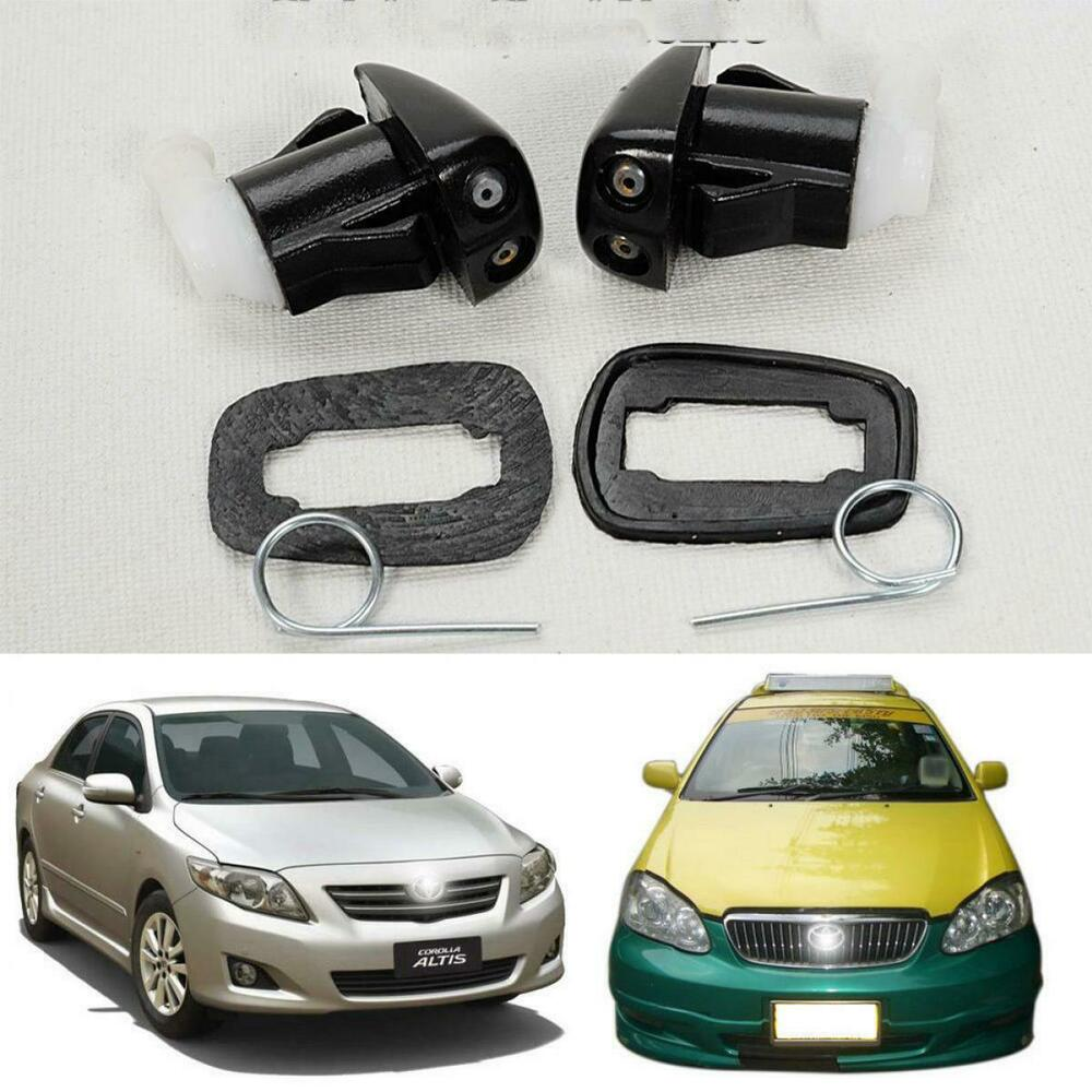 fit 2008 toyota corolla camry e120 e150 pair windshield water washer nozzle jet ebay. Black Bedroom Furniture Sets. Home Design Ideas