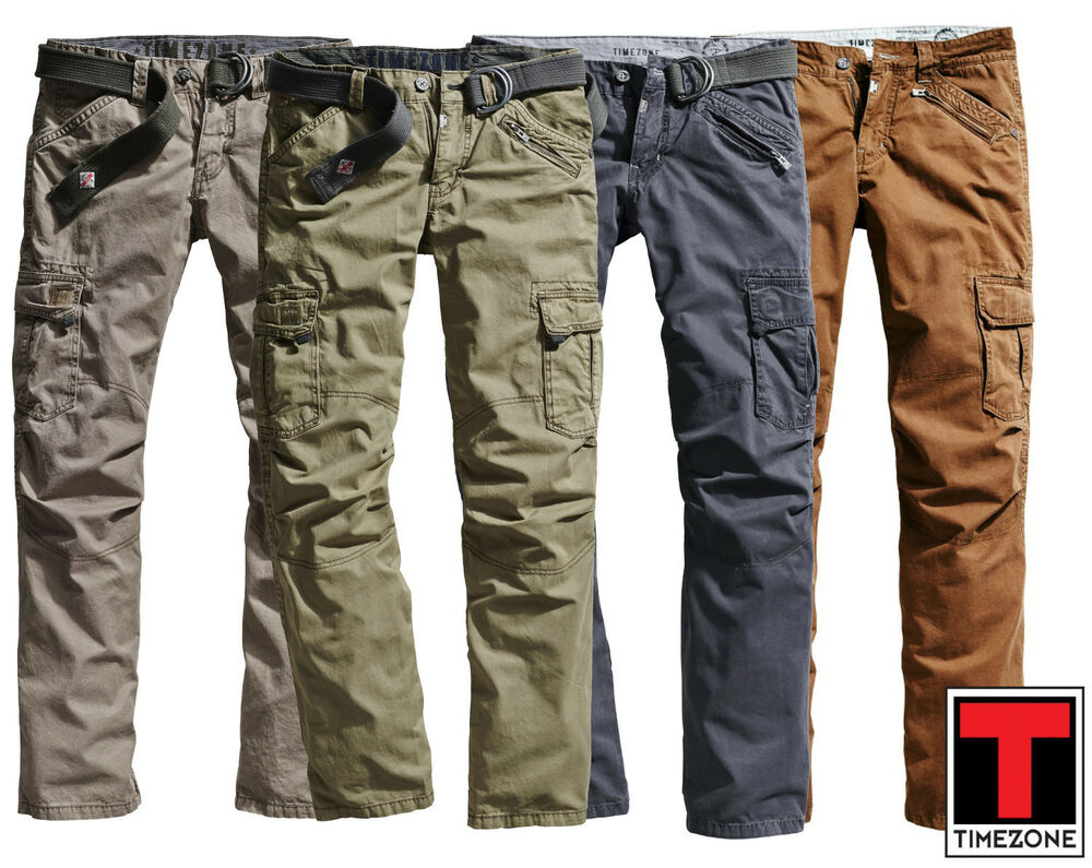 jeans hosen herren timezone benito tz top neu 26 0155 blau braun gr n olive sand ebay. Black Bedroom Furniture Sets. Home Design Ideas