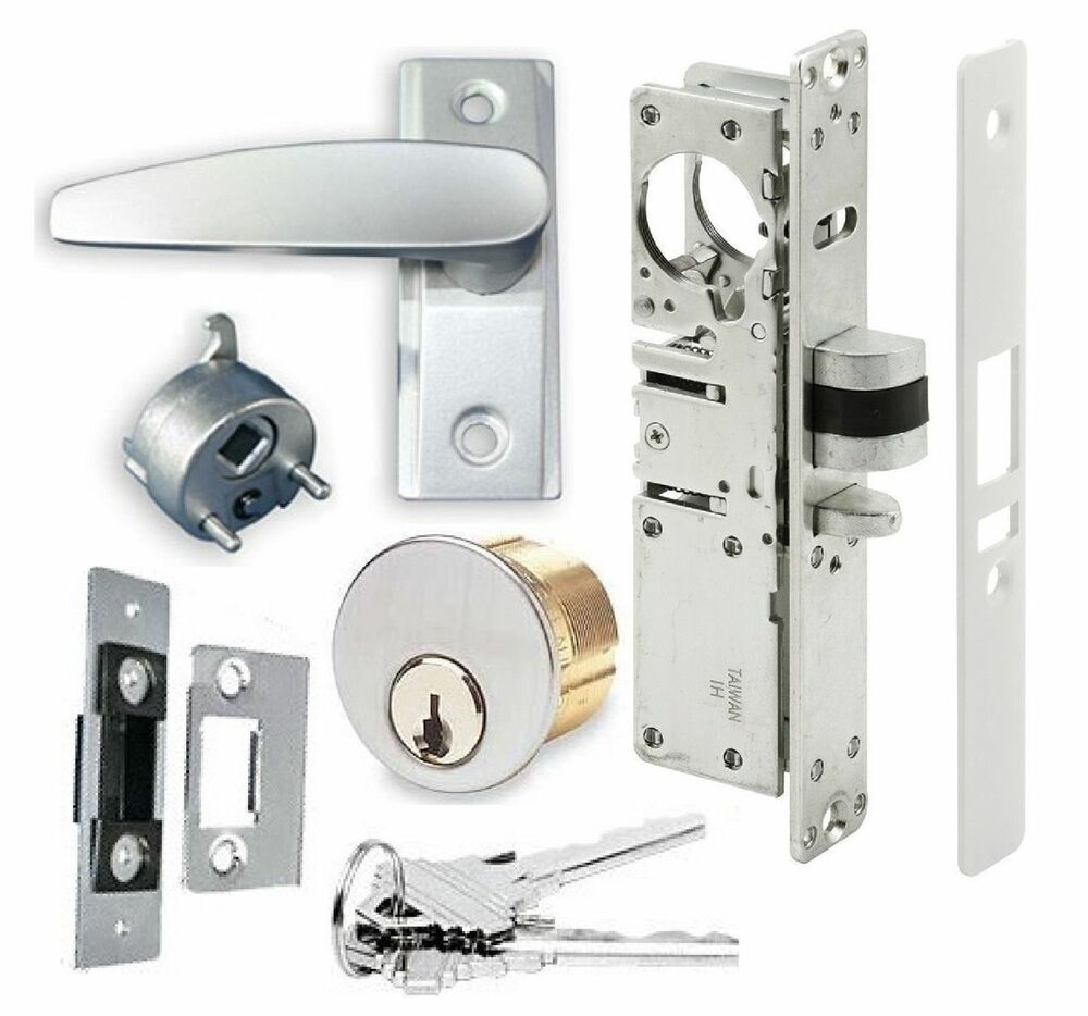 Adams Rite Type Storefront Door Dead Latch W Lever Handle