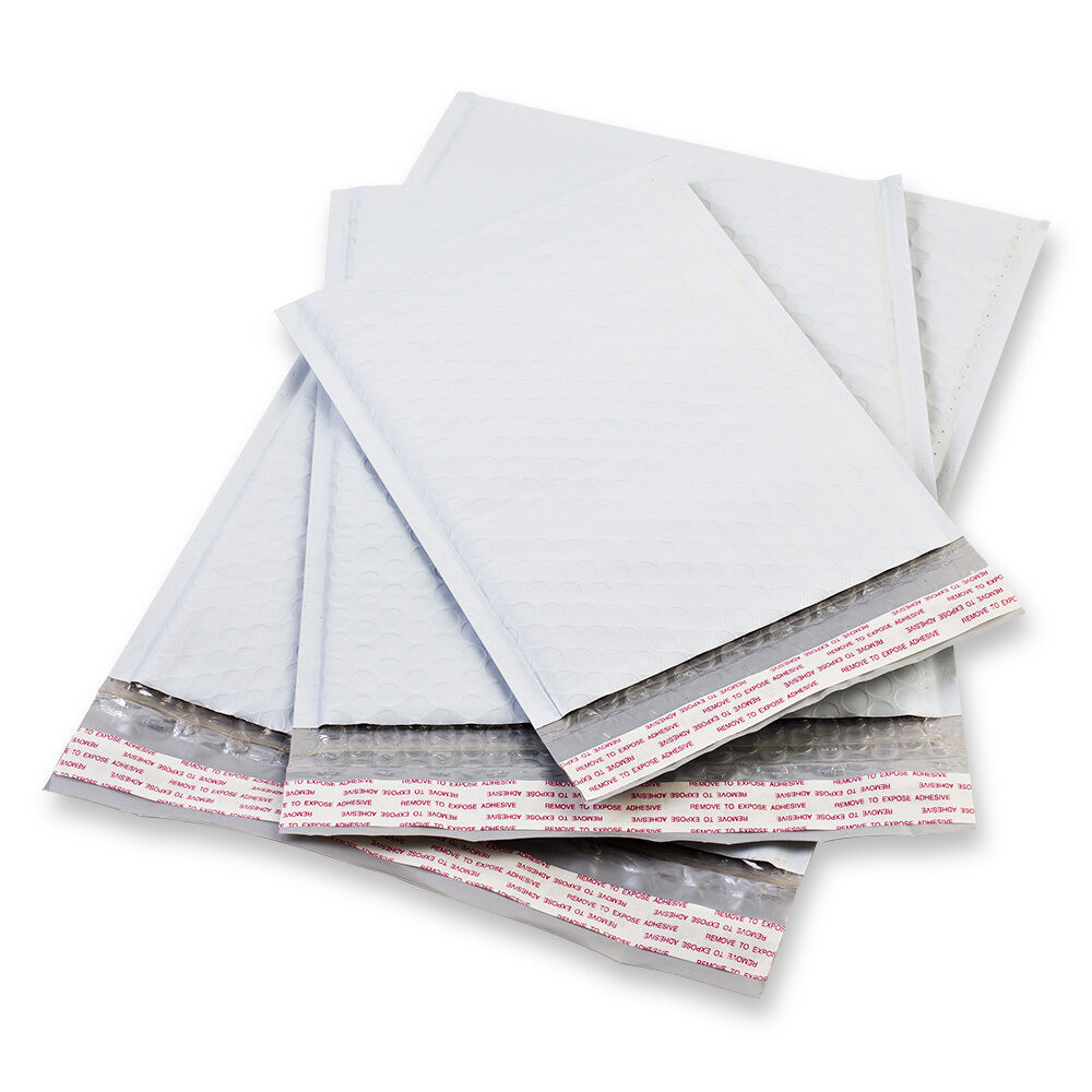 5  6 poly bubble padded envelopes mailers self seal