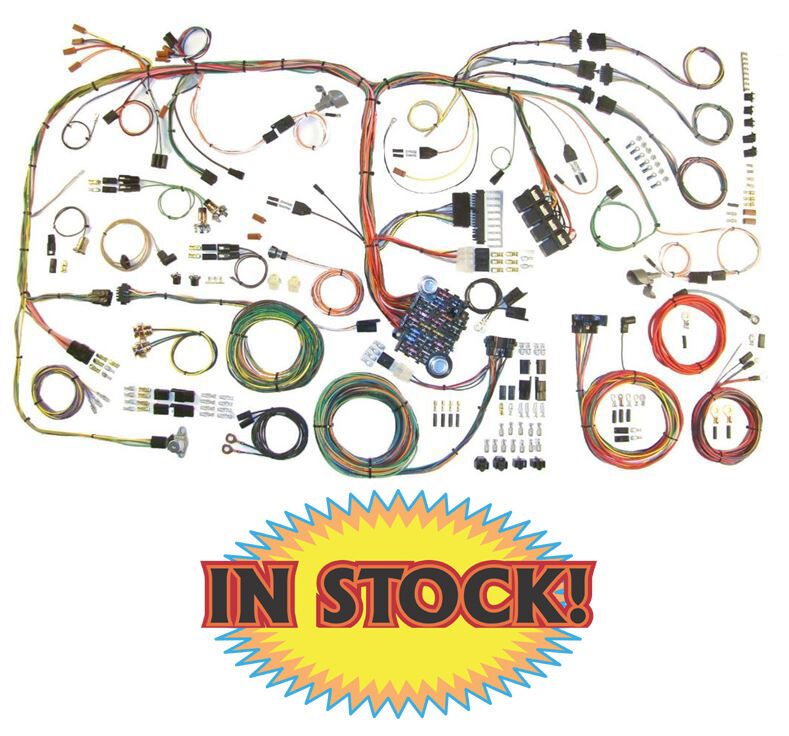 Wiring Harness 73 Nova : American autowire complete wiring kit