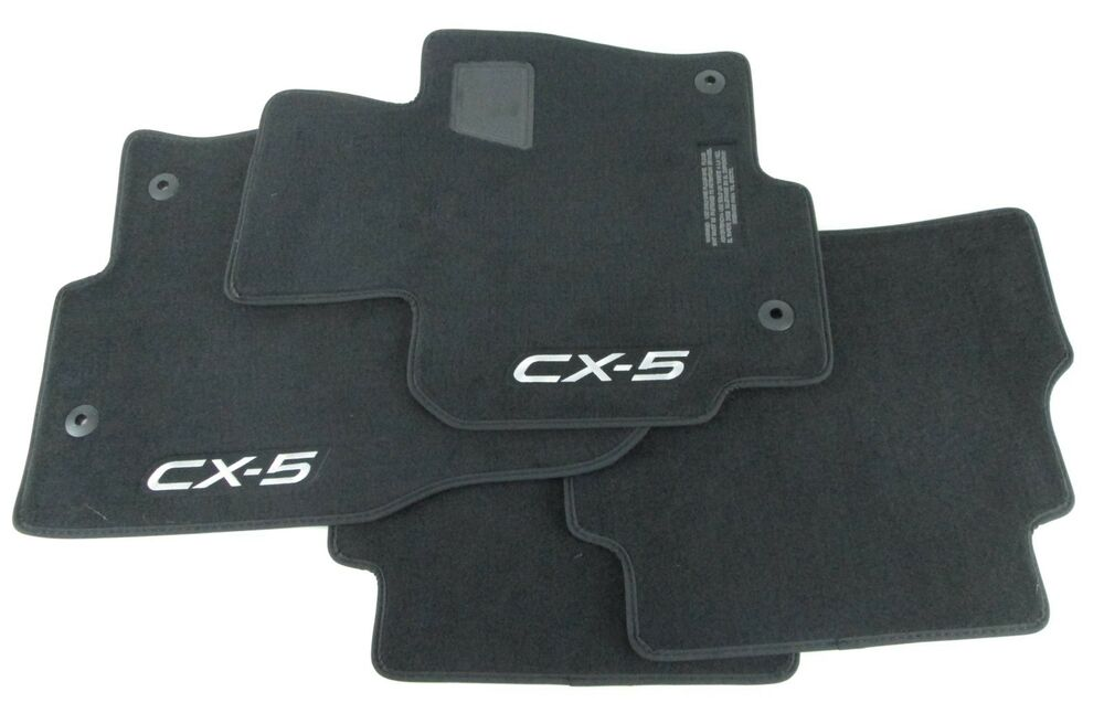 carpet floor mats 2013 2015 mazda cx 5 oem 0000 8b r10. Black Bedroom Furniture Sets. Home Design Ideas