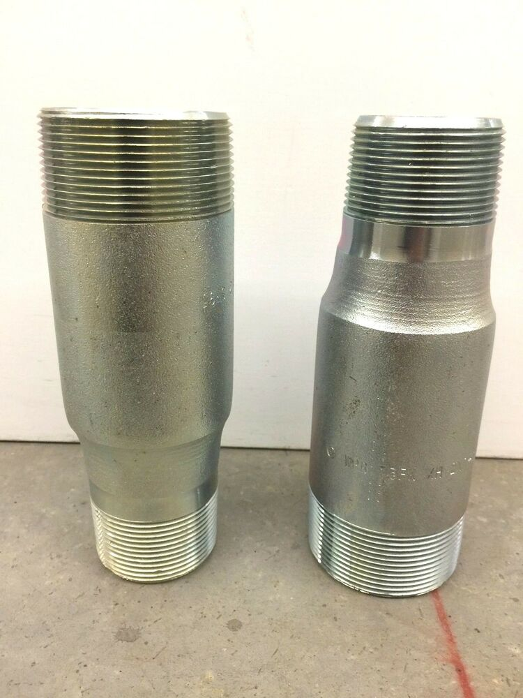 New capitol mfg concentric swage nipple quot to heavy