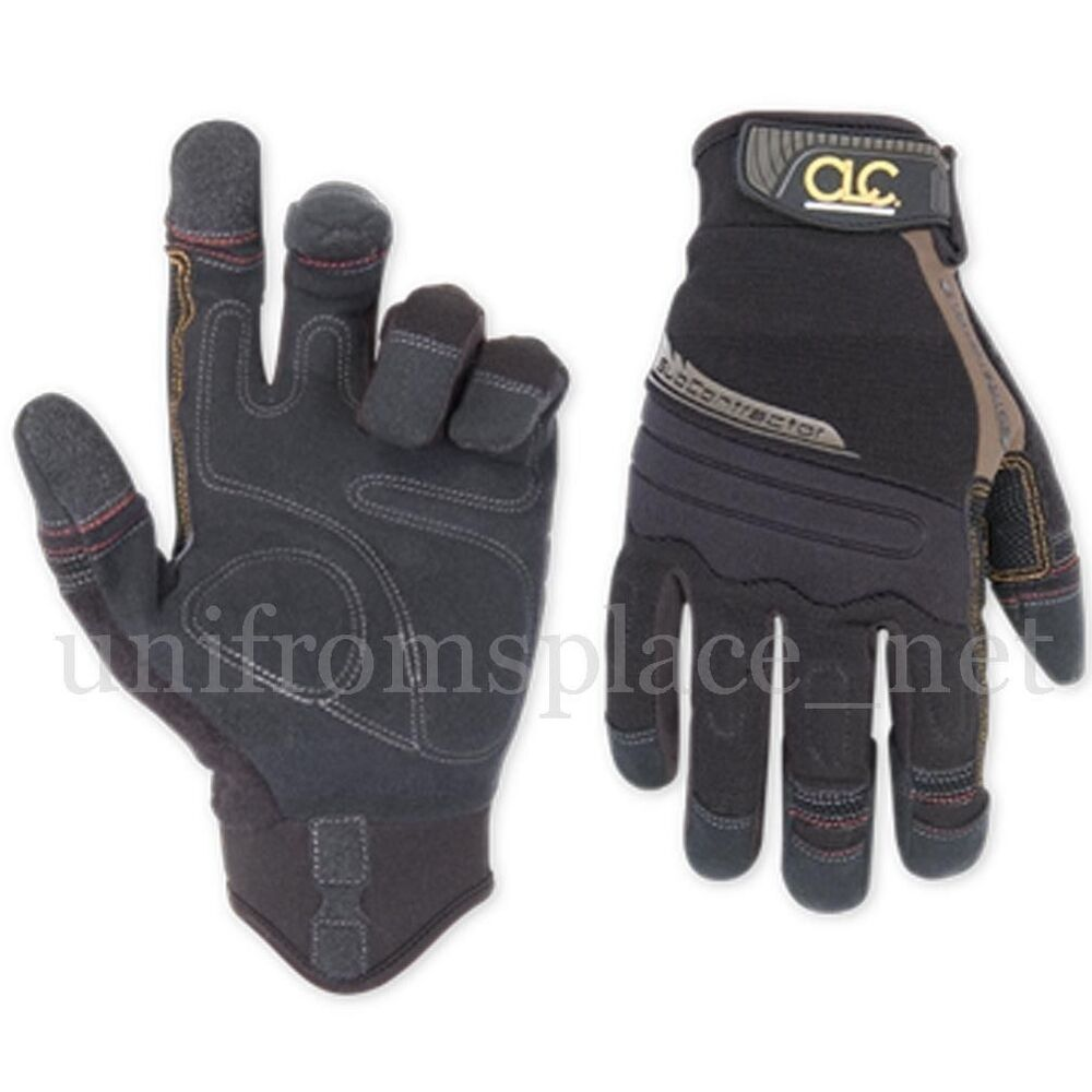 Custom Leathercraf Work Gloves Men Clc Subcontractor