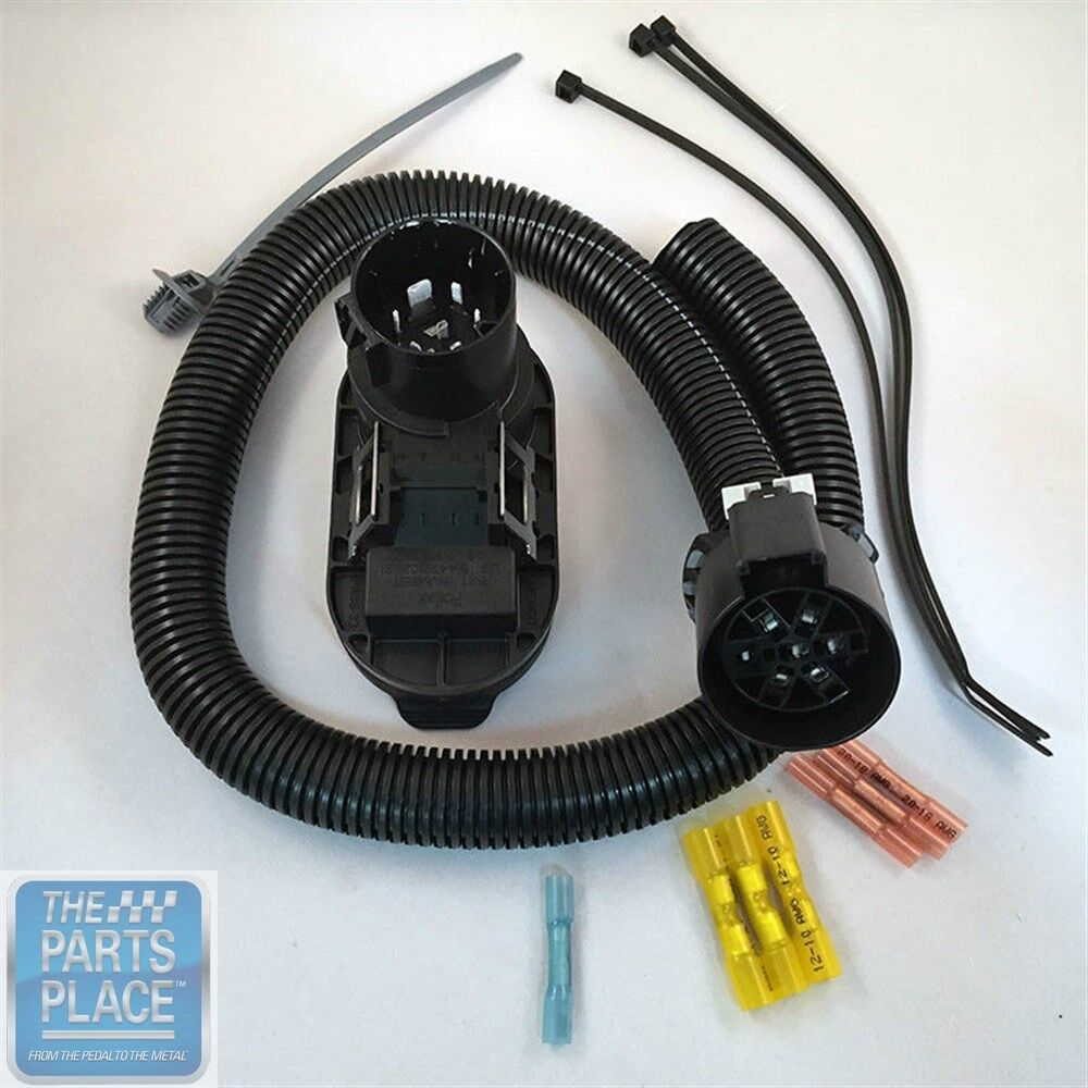 Colorado canyon trailer wiring harness flat gm