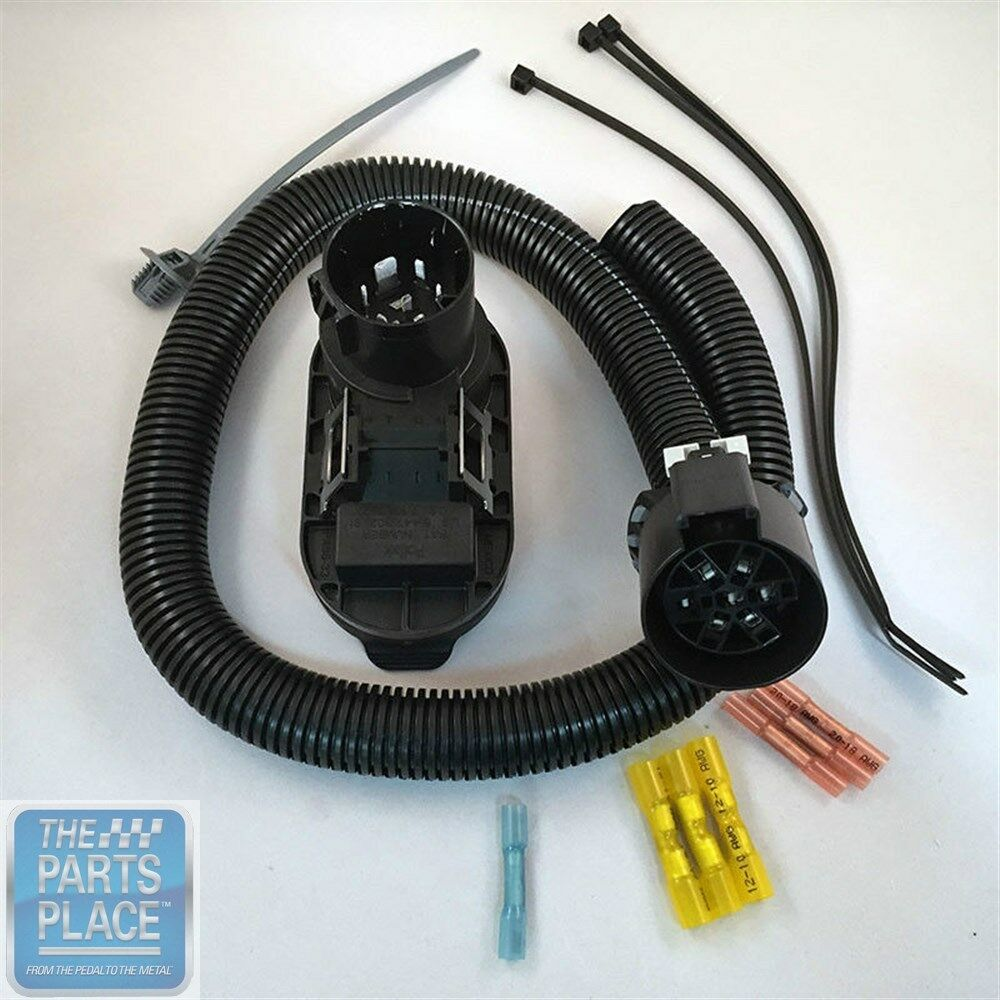 Trailer Wiring Harness For Chevy Colorado : Colorado canyon trailer wiring harness flat gm