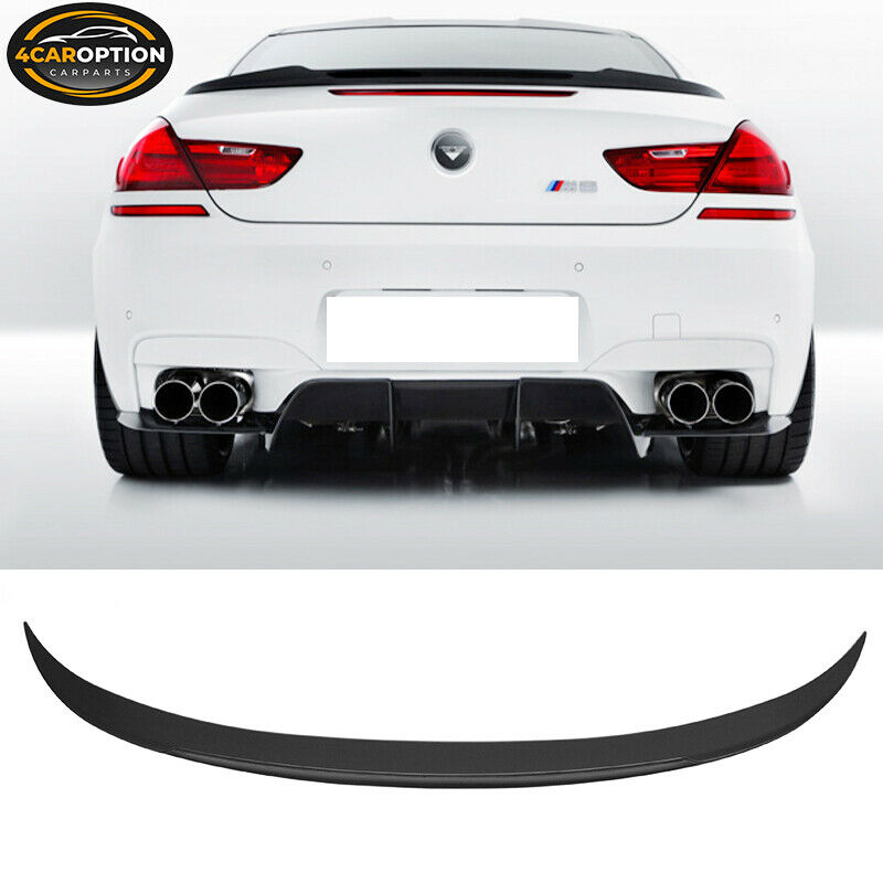 Shopbmwusa Com Bmw 6 Series Gran CoupÉ F06: V-Style Rear Trunk Spoiler ABS 12-17 BMW F13 F06 6 Series