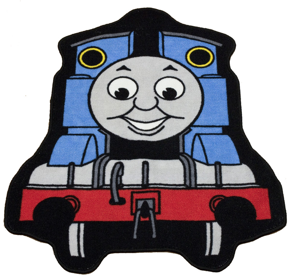 Thomas The Tank Engine Express Shaped Rug Mat Carpet Kids