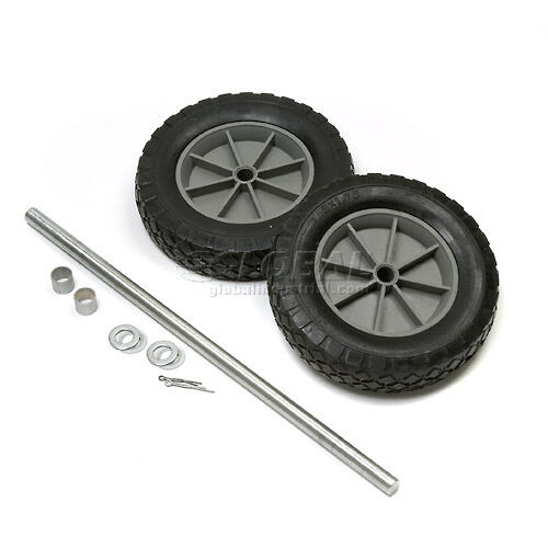 Universal mold on 8 quot rubber hand truck wheel kit ebay