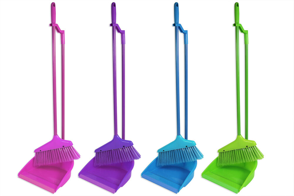 Quot Brights Quot Long Handle Dustpan And Brush For Sweeping
