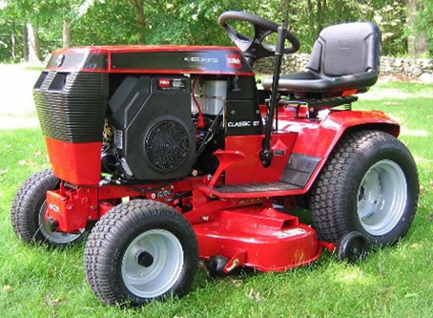 Wheel Horse Tractor Engines : Wheel horse tractors b c d speed service manual