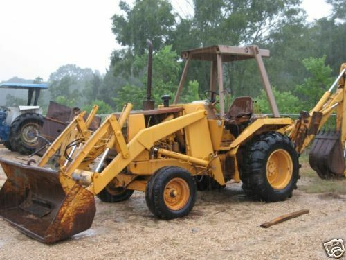 Case 580e Super E 580se Loader Backhoe Tractor 2 Service