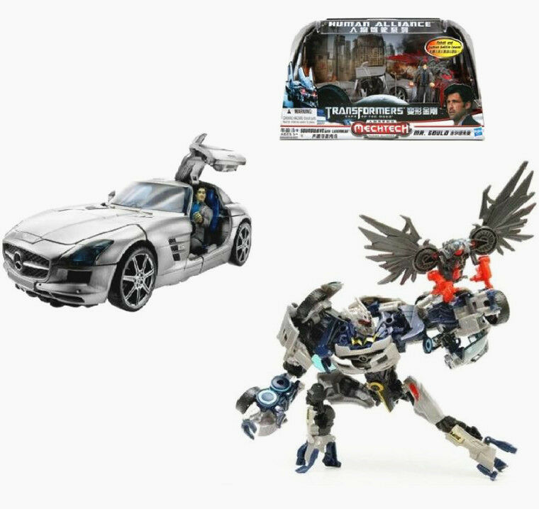 Transformers Dark Of The Moon Human Alliance Soundwave Toy ...